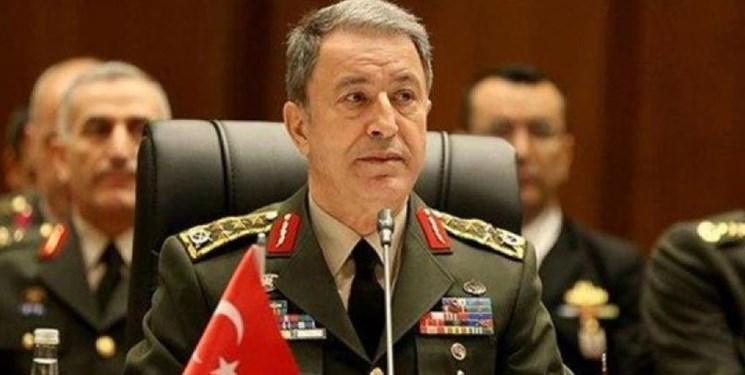 وزیر دفاع ترکیه: آتش بس تا به امروز نقض نشده است