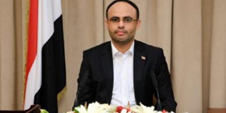 رئیس شورای عالی سیاسی یمن سالروز استقلال سوریه را به بشار اسد تبریک گفت