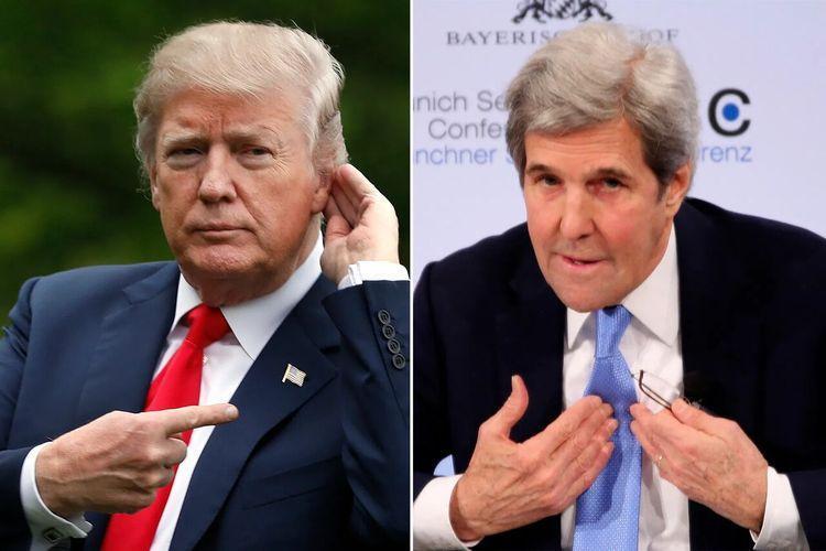ترامپ: ایران خواستار توافق با من است، جان کری نمی گذارد