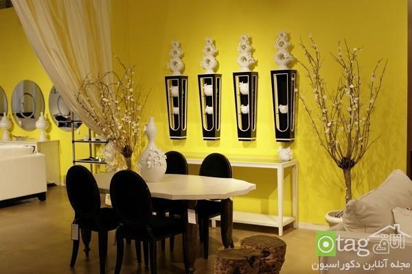 بهترین تناژهای رنگ زرد در طراحی داخلی منزل