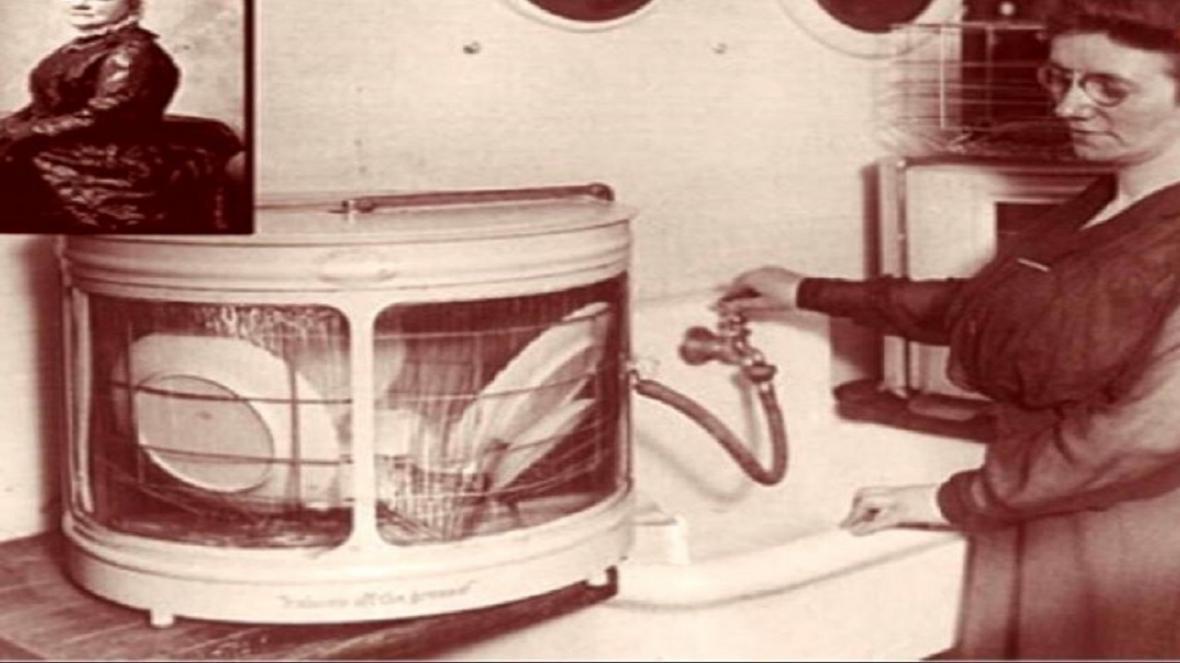 چه کسی ماشین ظرفشویی را اختراع کرد؟