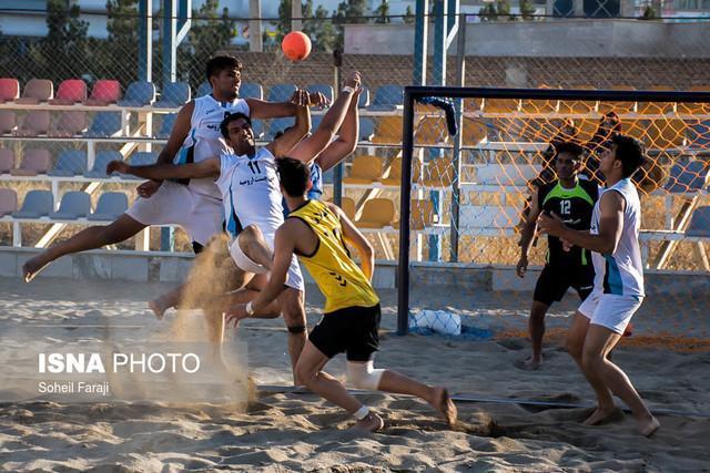 انتخاب کادر فنی هندبال ساحلی