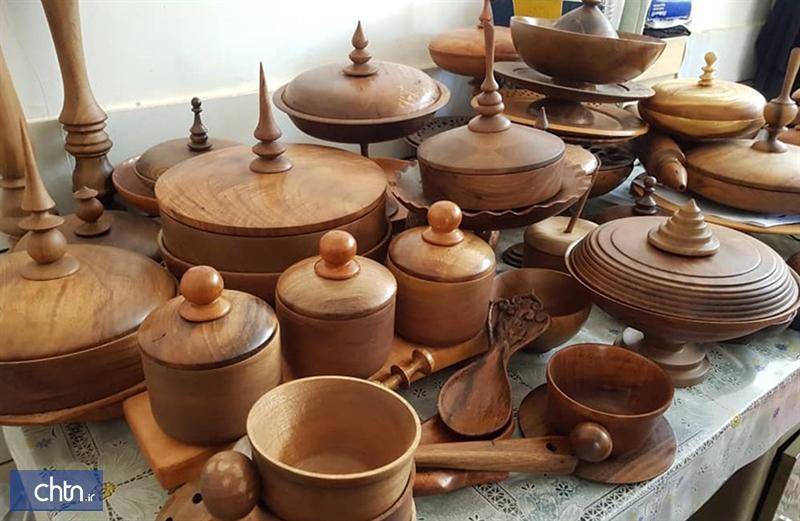 راه اندازی کارگاه خراطی سنتی در سرایان