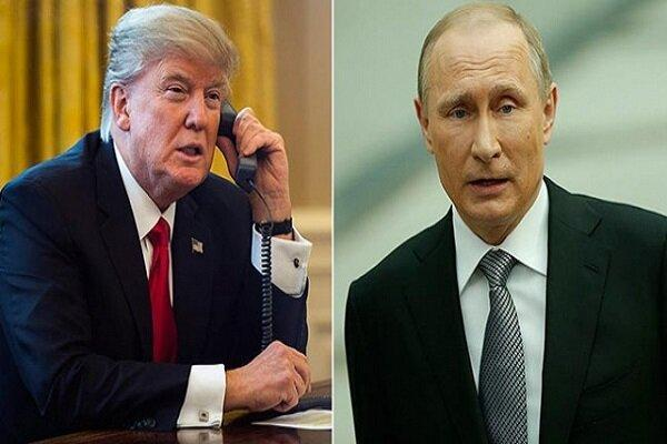 ترامپ و پوتین پیرامون برنامه هسته ای ایران تبادل نظر کردند