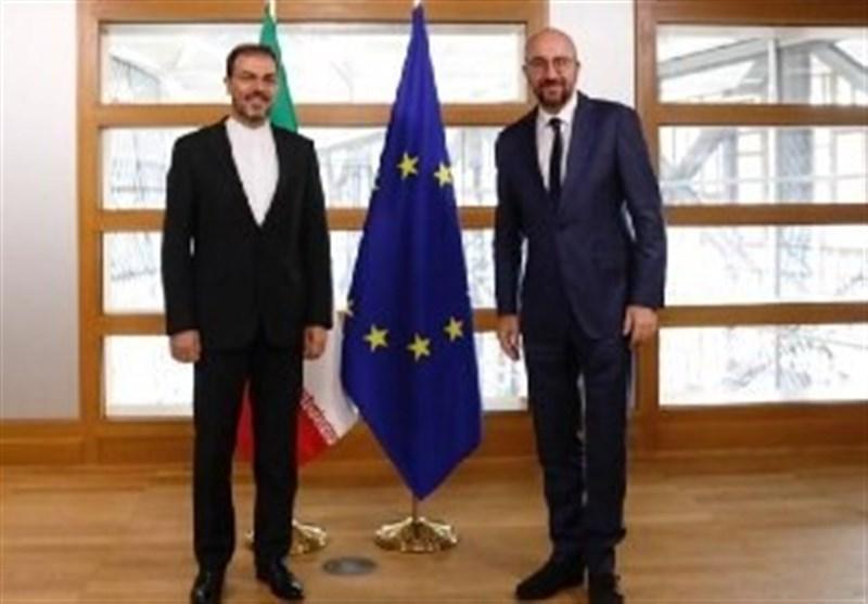 غلامحسین دهقانی استوارنامه خود را تقدیم رئیس اتحادیه اروپا کرد