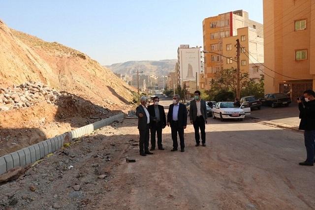 بازدید فرماندار تبریز از ساماندهی خیابان شهید ولی پور باغمیشه