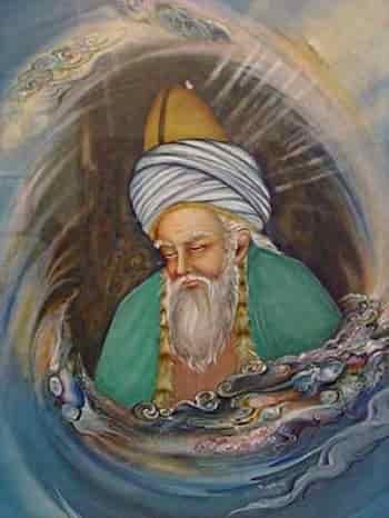 گزیده چند شعر از اشعار مولانا جلال الدین رومی