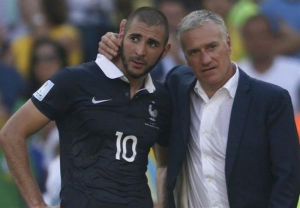 دلیل شخصی دشان برای خودداری از دعوت بنزما به تیم ملی فرانسه