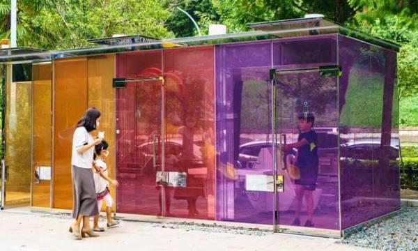 توالت های شفاف؛ جاذبه گردشگری جدید توکیو، عکس