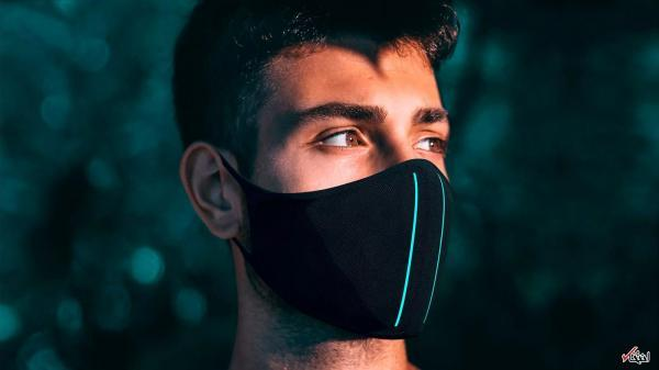 ماسک ماوراء بنفش با قدرت حذف 99% آلودگی ها