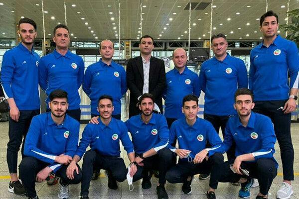 تیم ملی تکواندو وارد بلغارستان شد، تدابیر سخت برای مقابله با کرونا