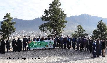 کاشت 300 اصله نهال به مناسبت روز درختکاری