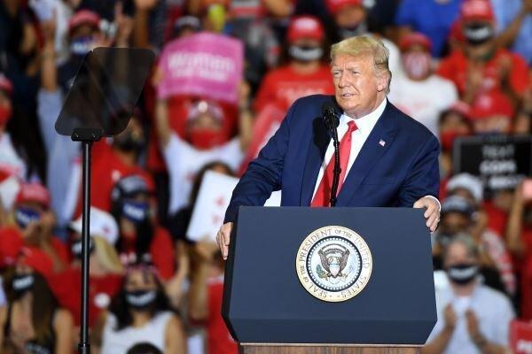 اغلب هواداران ترامپ به حزب او می پیوندند