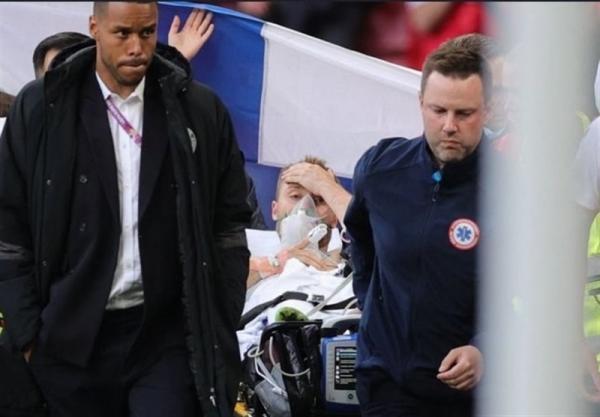 یورو 2020، بیانیه فدراسیون دانمارک درباره آخرین شرایط کریستین اریکسن، ستاره اینتر در بیمارستان می ماند