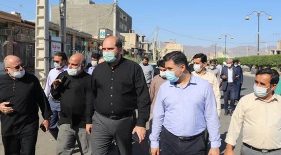 دسترسی 500 خانواده در منطقه محروم قلعه گنج به آب شرب سالم
